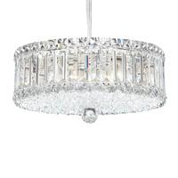 Schonbek 6670A Plaza 9 Light 15 inch Stainless Steel Pendant Ceiling Light in Spectra