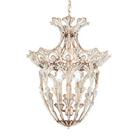 Rivendell 4 Light 15 inch Antique Silver Lantern Pendant Ceiling Light in Clear Spectra