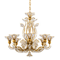 Schonbek 7863-22S Rivendell 8 Light 26 inch Heirloom Gold Chandelier Ceiling Light in Clear Swarovski