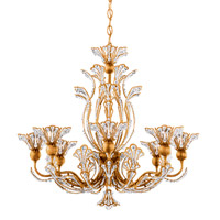 Schonbek 7863-26A Rivendell 8 Light 26 inch French Gold Chandelier Ceiling Light in Rivendell Spectra