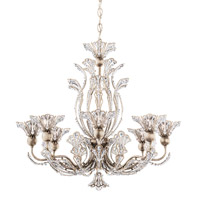 Schonbek 7863-48A Rivendell 8 Light 26 inch Antique Silver Chandelier Ceiling Light in Rivendell Spectra