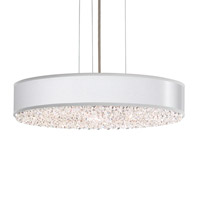 Schonbek EC0319N-401A1 Eclyptix 6 Light 20 inch Stainless Steel Pendant Ceiling Light in Silver, Clear Spectra