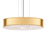 Schonbek EC0319N-401H4 Eclyptix 6 Light 20 inch Stainless Steel Pendant Ceiling Light in Gold Clear Heritage