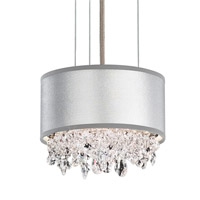 Schonbek EC1306N-401H1 Eclyptix 2 Light 7 inch Stainless Steel Pendant Ceiling Light in Silver, Clear Heritage