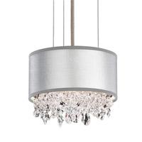 Schonbek EC1306N-401A1 Eclyptix 2 Light 7 inch Stainless Steel Pendant Ceiling Light in Silver, Clear Spectra