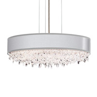 Schonbek EC1319N-401H1 Eclyptix 6 Light 20 inch Stainless Steel Pendant Ceiling Light in Silver Clear Heritage