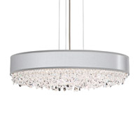 Schonbek EC1324N-401H1 Eclyptix 7 Light 24 inch Stainless Steel Pendant Ceiling Light in Heritage Eclyptix Silver