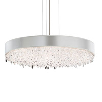Schonbek EC1328N-401S1 Eclyptix 12 Light 29 inch Stainless Steel Pendant Ceiling Light in Silver, Clear Swarovski