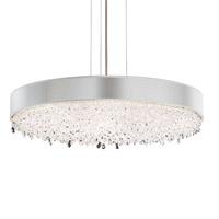 Schonbek EC1328N-401H1 Eclyptix 12 Light 29 inch Stainless Steel Pendant Ceiling Light in Silver Clear Heritage
