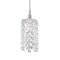 Refrax 1 Light 2 inch Stainless Steel Pendant Ceiling Light in Clear Spectra, Geometrix,Canopy Sold Separately