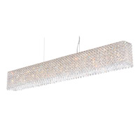 Refrax 15 Light 49 inch Stainless Steel Pendant Ceiling Light in Clear Spectra, Geometrix,Canopy Sold Separately