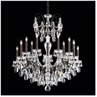 Sonatina 14 Light French Gold Chandelier Ceiling Light in Clear Swarovski