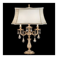 Schonbek Sophia Lamps 2 Light Table Lamp in Parchment Gold and Golden Shadow Swarovski Elements Trim 70500N-27GS