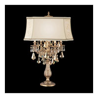 Schonbek Sophia Lamps 4 Light Table Lamp in Florentine Bronze and Golden Teak Swarovski Elements Trim 70505N-83TK