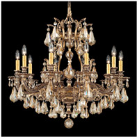 Sophia 10 Light 31 inch Florentine Bronze Chandelier Ceiling Light in Golden Shadow