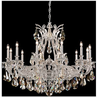 Sophia 12 Light 39 inch Antique Silver Chandelier Ceiling Light in Silver Shade
