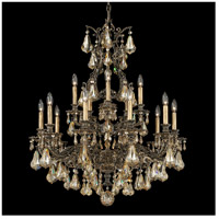 Sophia 15 Light 31 inch Florentine Bronze Chandelier Ceiling Light in Golden Shadow