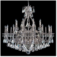 Sophia 24 Light 50 inch Roman Silver Chandelier Ceiling Light in Silver Shade