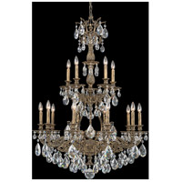 Sophia 15 Light 32 inch Midnight Gild Chandelier Ceiling Light in Clear Spectra