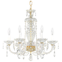 Schonbek 2994-211H Sterling 6 Light 21 inch Aurelia Chandelier Ceiling Light in Sterling Heritage