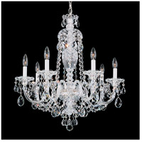 Schonbek 2995-40H Sterling 7 Light 25 inch Silver Chandelier Ceiling Light in Clear Heritage