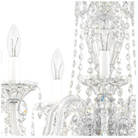 Schonbek 2995-40A Sterling 7 Light Silver Chandelier Ceiling Light in Spectra, Polished Silver alternative photo thumbnail