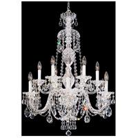 Schonbek 2997-40H Sterling 12 Light 29 inch Silver Chandelier Ceiling Light in Polished Silver Clear Heritage