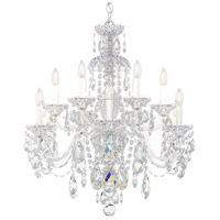 Sterling 12 Light 29 inch Silver Chandelier Ceiling Light in Polished Silver, Clear Heritage