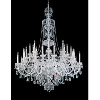 Sterling 45 Light Silver Chandelier Ceiling Light in Polished Silver, Clear Spectra