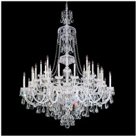 Schonbek 3612-40H Sterling 45 Light 60 inch Silver Chandelier Ceiling Light in Polished Silver, Clear Heritage