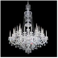 Schonbek 3612-40H Sterling 45 Light 60 inch Silver Chandelier Ceiling Light in Polished Silver Sterling Heritage