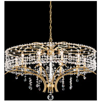 Schonbek TC1036N-06A Bella Rose 10 Light White Chandelier Ceiling Light in Cast White