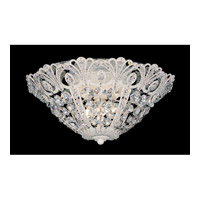 Schonbek Tiara 3 Light Ceiling Fixture in French Provincial and Swarovski Crystal 9800-34