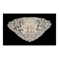 Schonbek Tiara 5 Light Flush Mount in Silvergild and Clear Spectra Crystal Trim 9801-91 photo thumbnail