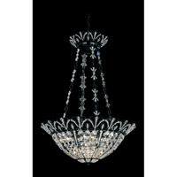 Schonbek Tiara 7 Light Pendant in Wet Black and Clear Spectra Crystal Trim 9847-55 photo thumbnail