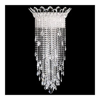 Schonbek TR1233N-401A Trilliane Strands 4 Light 12 inch Stainless Steel Wall Sconce Wall Light in Clear Spectra