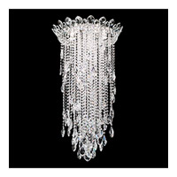 Trilliane Strands 5 Light Stainless Steel Flush Mount Ceiling Light in Clear Spectra