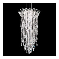 Trilliane Strands 5 Light 21 inch Stainless Steel Pendant Ceiling Light in Clear Heritage
