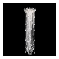 Schonbek TR1813N-401A Trilliane Strands 5 Light 21 inch Stainless Steel Pendant Ceiling Light in Clear Spectra