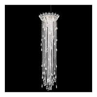 Schonbek TR1813N-401A Trilliane Strands 5 Light 21 inch Stainless Steel Pendant Ceiling Light in Clear Spectra