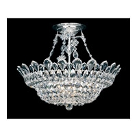 Trilliane 10 Light 24 inch Silver Semi Flush Mount Ceiling Light in Clear Spectra