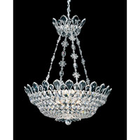 Schonbek Trilliane 12 Light Pendant in Silver and Clear Spectra Crystal Trim 5799A
