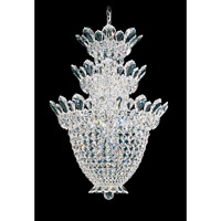 Trilliane 15 Light 19 inch Silver Chandelier Ceiling Light in Clear Swarovski