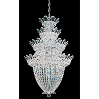 Trilliane 24 Light 24 inch Silver Chandelier Ceiling Light in Clear Swarovski