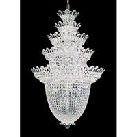 Trilliane 48 Light 33 inch Silver Chandelier Ceiling Light in Clear Swarovski