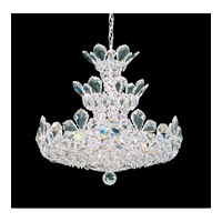 Schonbek Trilliane 15 Light Chandelier in Silver and Crystal Swarovski Elements Trim 5851S