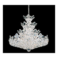 Trilliane 24 Light 24 inch Silver Chandelier Ceiling Light in Clear Swarovski Elements