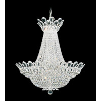 Trilliane 40 Light 28 inch Silver Chandelier Ceiling Light in Clear Swarovski