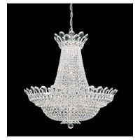 Schonbek Trilliane 53 Light Chandelier in Silver and Crystal Swarovski Elements Trim 5873S