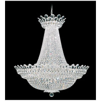 Trilliane 63 Light 40 inch Silver Chandelier Ceiling Light in Clear Swarovski